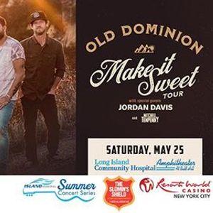 Old Dominion, Mitchell Tenpenny & Jordan Davis at Long