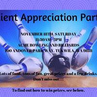 Rock Bowl Client Appreciation Party