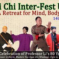 Tai Chi Inter-Fest 2017- A Celebration of Prof Lis 80yr Journey