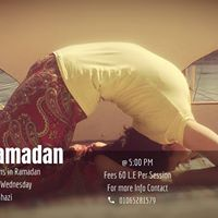 Yoga X Ramadan With Aya Ghazi