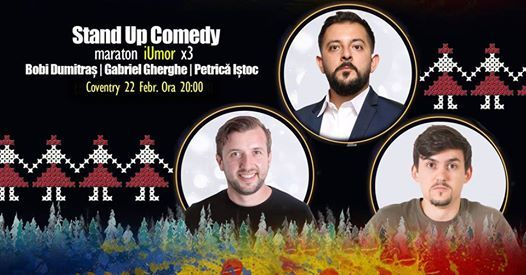 Coventry Stand Up Comedy iUmor cu Dumitras Gherghe si Istoc