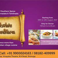 Dakshin Bhojanotsava Food Festivals