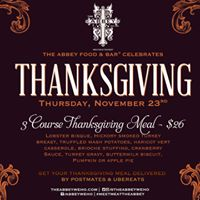 Thanksgiving Celebration at The Abbey