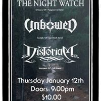 The Night Watch Unbowed Distoriam at House of Targ