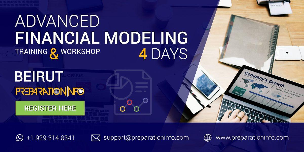 Advanced Financial Modeling Certification Classroom Program in Beirut 4Days