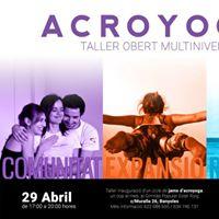 Acroyoga - Taller Obert Multinivell