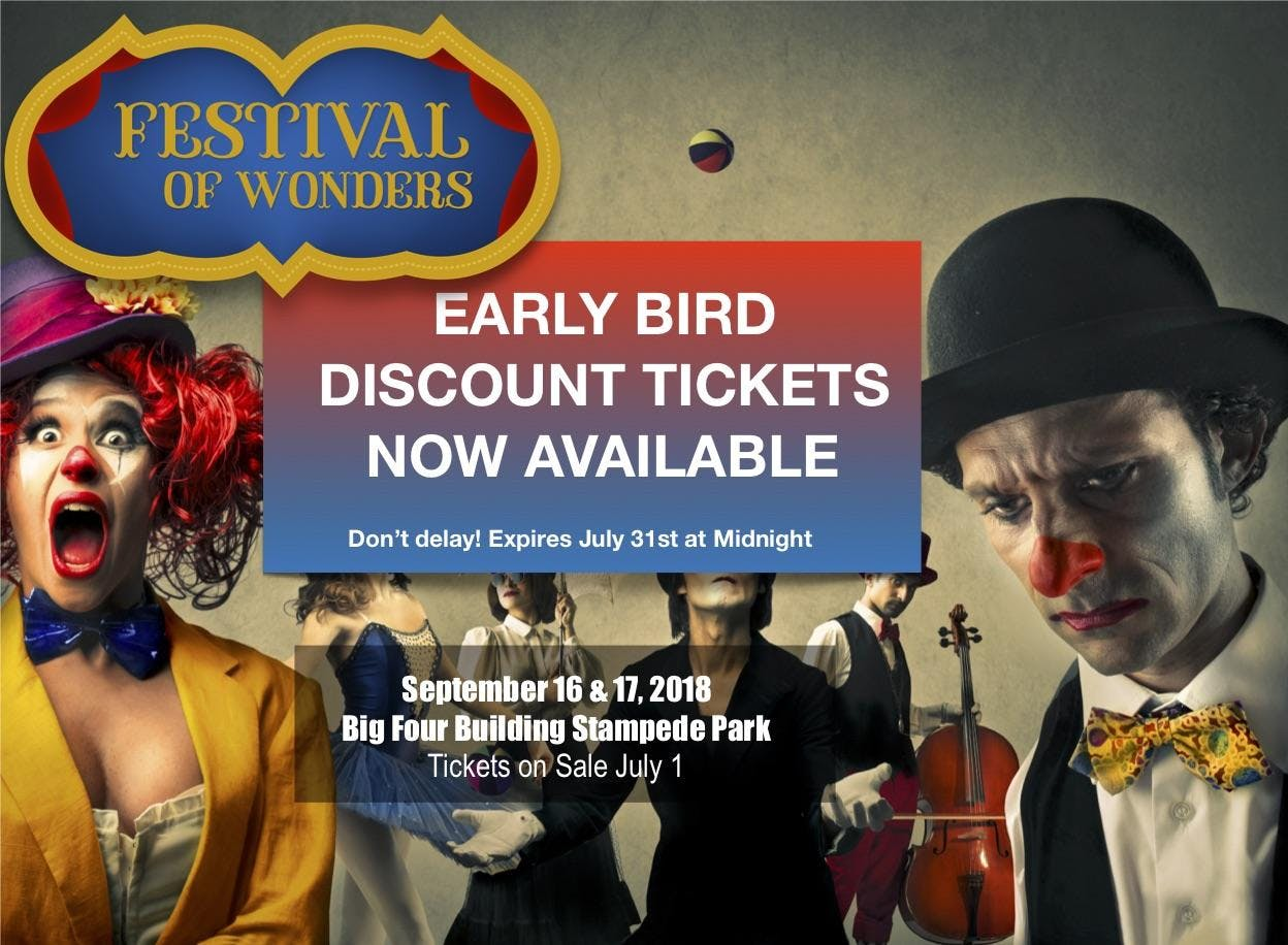Festival of Wonders - Early Bird Tickets