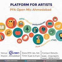 PFA Open Mic Ahmedabad