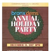Bronxdems Annual Holiday Party