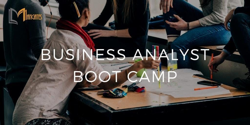 Business Analyst Boot Camp in Toronto on Feb 19th-22nd 2019