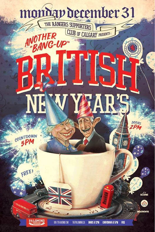RSCC present Another Bang-Up British New Years.