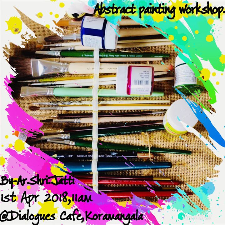 Abstract Acrylic Painting Workshop.
