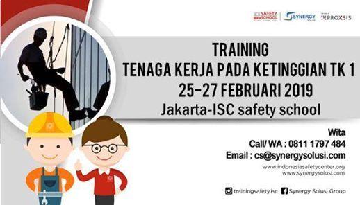 Training Tenaga Kerja pada Ketinggian Tingkat 1
