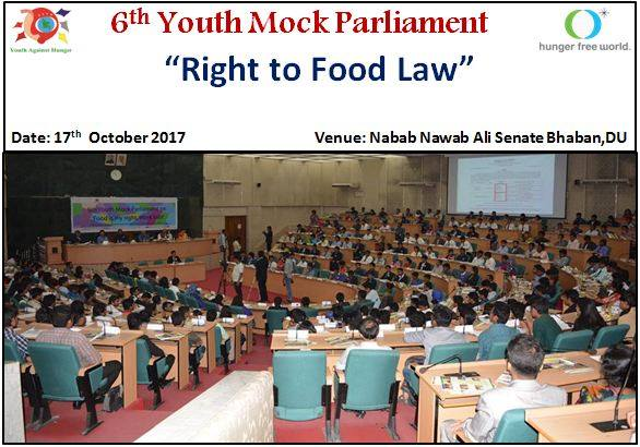 6th Youth Parliament on Demanding Right to Food Law