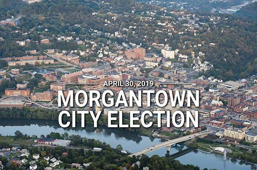 City Election Day At Morgantown City Hall, Morgantown