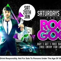 Absolut Lime presents Roger Goode