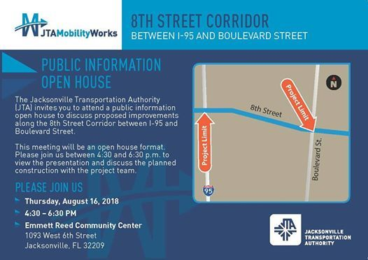 Open House - JTAMobilityWorks 8th Street Project