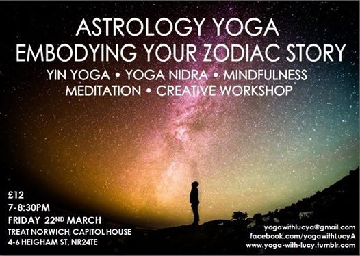 Astrology Yoga: Embodying Your Zodiac Story at Treat- NorwichCapitol