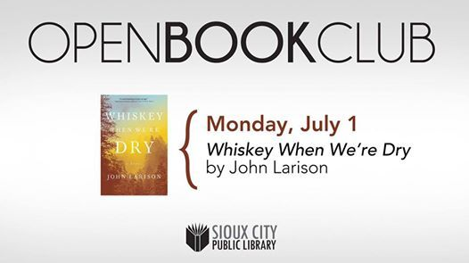 Open Book Club at Morningside Branch Library, Sioux City