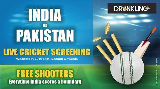 Live Match Screening - Ind Vs Pak