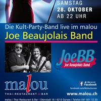 Joe Beaujolais Band live im Malou