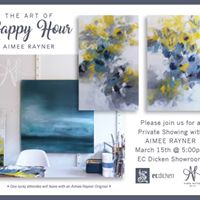 Happy hour with Aimee Rayner Fine Art