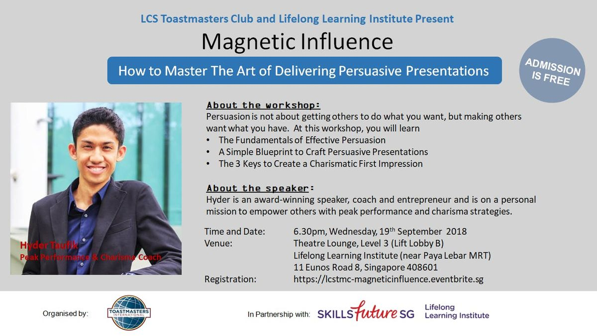 the art of influence and persuasion