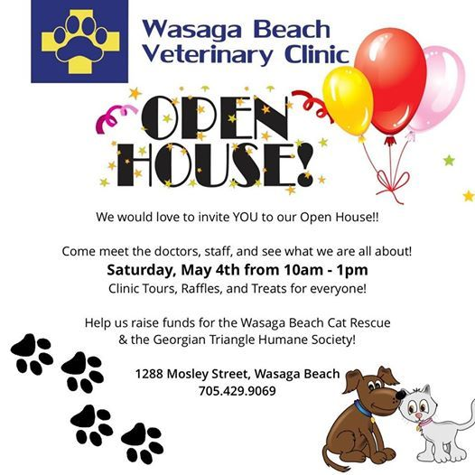 Open House! at Wasaga Beach Veterinary Clinic, Wasaga Beach