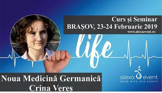 Crina Veres - Curs i Seminar Noua Medicin Germanic Braov