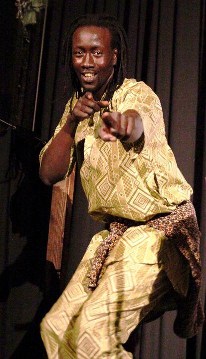 Afrikanischer Tanz Workshop mit Dame Diop aus dem Senegal
