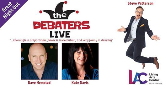 The Debaters LIVE On Tour - Mississauga
