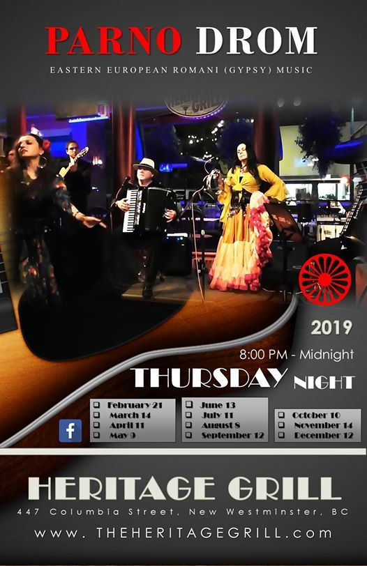 PARNO DROM - Eastern European Romani (Gypsy) Music at The Heritage