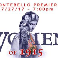 Women of 1915 Montebello Premiere