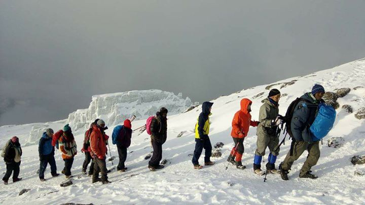 Join now 5 Days Mount Kilimanjaro Via Marangu route