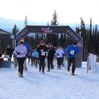 The North Face Dirty Feet Snowshoe Night Fun RunWalk