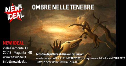 Mostra di pittura di Giovanni Curioni  New Ideal