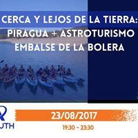 PiraguaAstroturismo en Embalse de la Bolera
