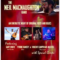 Neil MacNaughton Band at the Moonshine Cafe