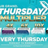 Thursday Multiplier