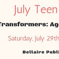 July Teen Movie Transformers Age of Extinction