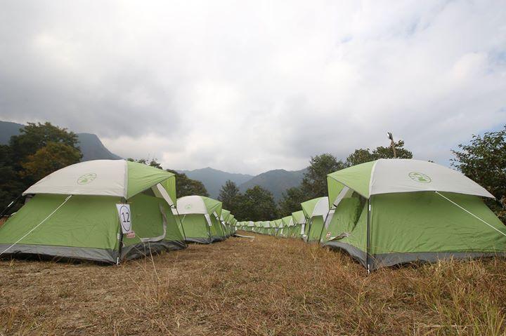Camping at Bacardi NH 7 Weekender Meghalaya