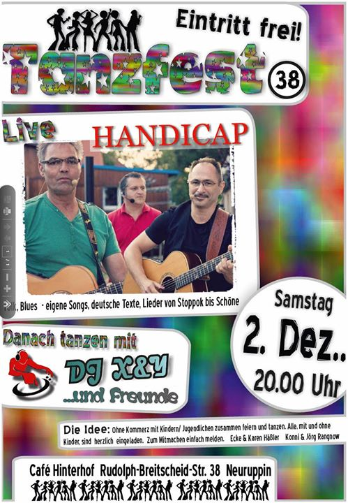 Tanzfest 38 At Cafe Hinterhof Evangelisches