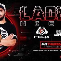 Brand New Thursday Hip-Hop Ladies NIGHT feat.Felix &amp Abi Jacob
