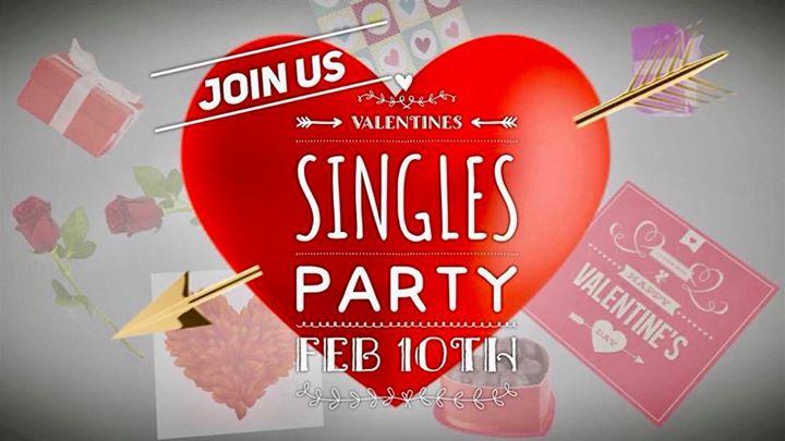 Valentines singles party
