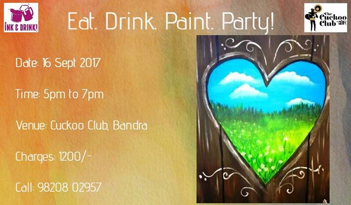 Eat Drink Paint Party