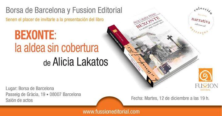 Presentacin nueva novela de Alicia Lakatos