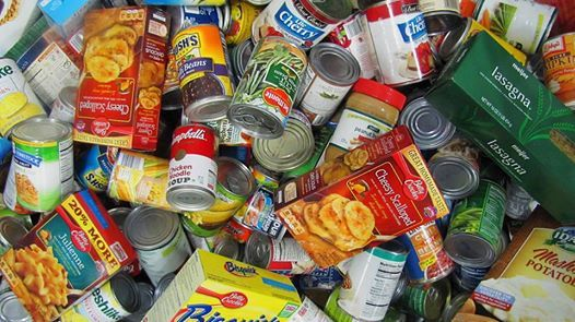 Food Drive and Collecting Donation