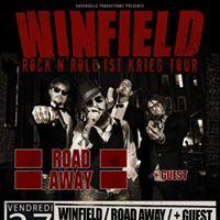 Winfield  Road Away  GUEST