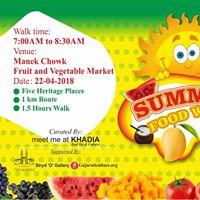 Summer Food Walk (Heritage site visit)