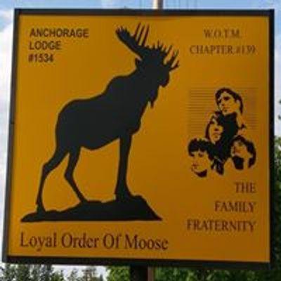 Anchorage Moose Lodge - LOOM 1534 WOTM 139